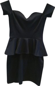 Nasty Gal Peplum Dress