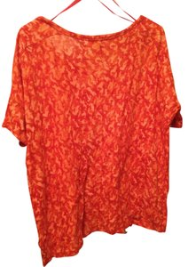 Michael Kors Camo Print T Shirt Orange