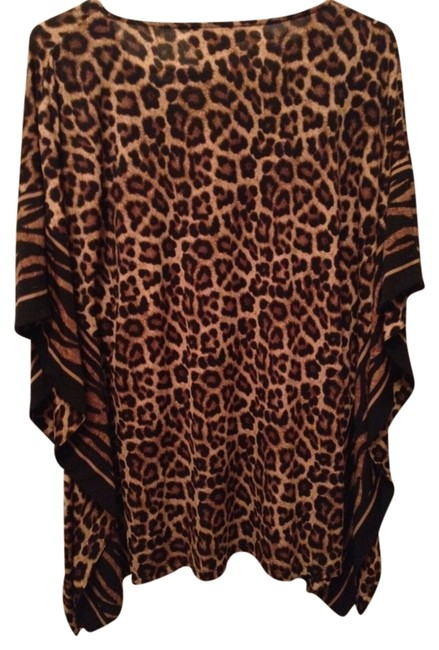 Item - Cheetah Brown Tunic Size 2 (XS)