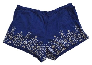 Anthropologie Mini/Short Shorts Blue