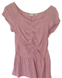 Anthropologie T Shirt Pale Pink.