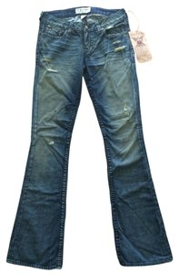 PRVCY Celebrity Clothing High End Clothing Boot Cut Jeans-Distressed