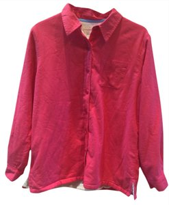 L.L. Bean Button Down Shirt Pink