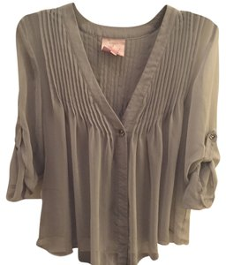 Romeo & Juliet Couture Top Grey