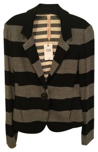 Bailey 44 Black & Gray stripe Blazer