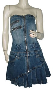 Rocawear short dress denim blue on Tradesy