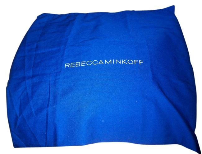 Item - Dust Cover 16x16 (Approx) Fabric Dust Blue with Logo White Cotton Tote