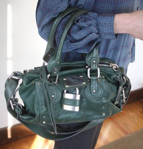 Chloé Chloe Paddington Satchel in Dark Green