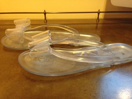Patricia Green clear Flats