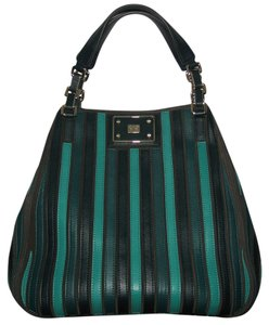 Anya Hindmarch Belvedere Large Tote in Green