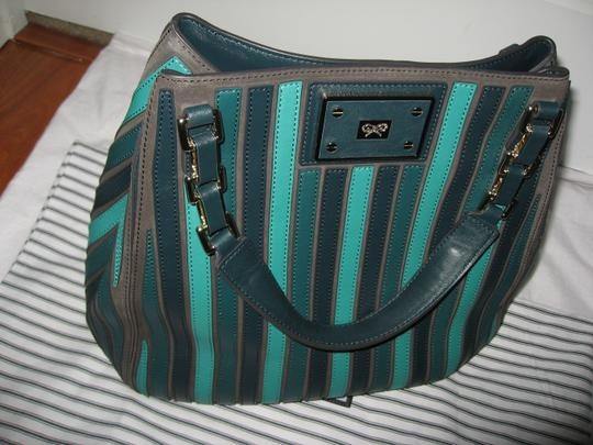 Anya Hindmarch Belvedere Large Tote in Green Image 1