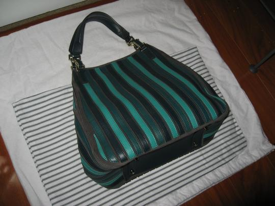 Anya Hindmarch Belvedere Large Tote in Green Image 3