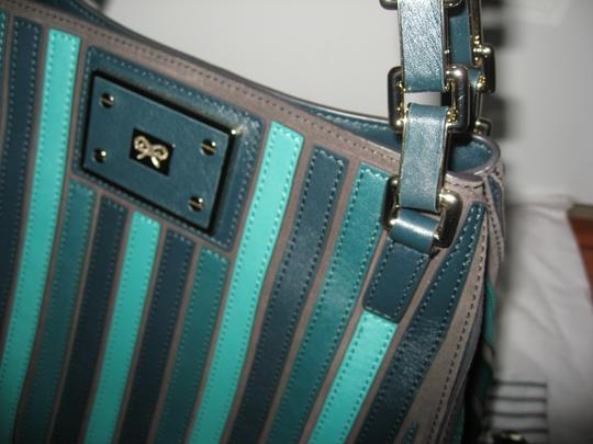 Anya Hindmarch Belvedere Large Tote in Green Image 6