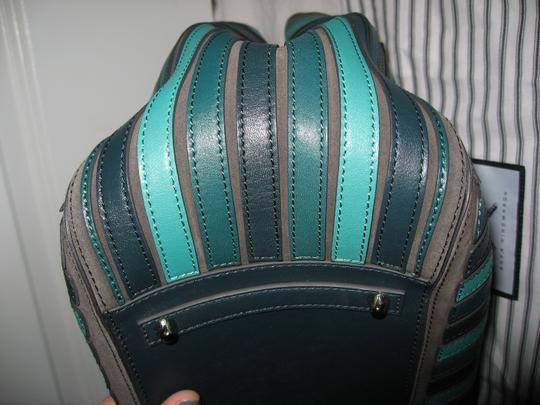 Anya Hindmarch Belvedere Large Tote in Green Image 9