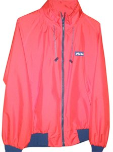 ATLANTIS GORE-TEX WEATHER GEAR RED/NAVY TRIM Jacket