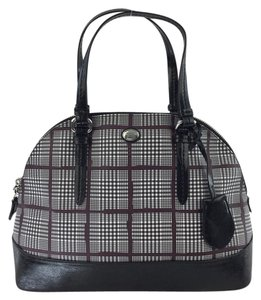 Coach Peyton Cora Domed Satchel in Multicolor