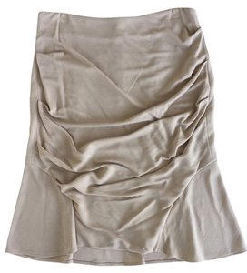 Yigal Azrouël Designer Work Skirt Biege
