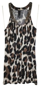 INC International Concepts Leopard-print Halter Top