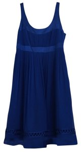 Cynthia Steffe Grecian Silk Flowy Dress