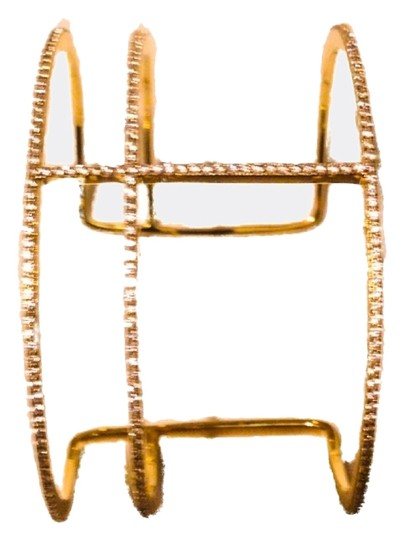 Other Micro Pave Bangle T Cuff