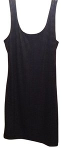Forever 21 short dress Black with gold studs on Tradesy