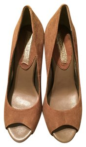 Banana Republic Suede Light Brown Pumps