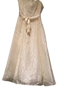 Adrianna Papell Sequins Formal Tulle Dress