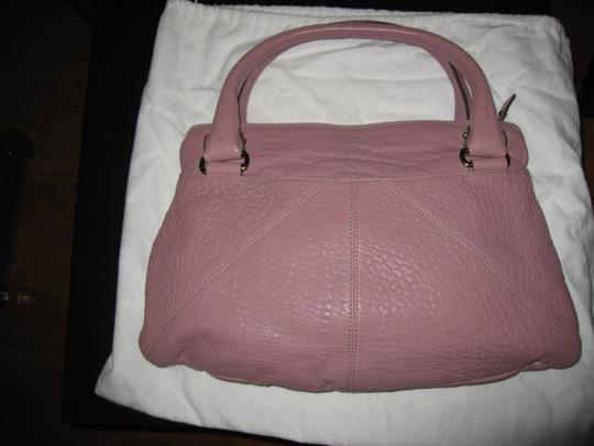 Salvatore Ferragamo Kimberly Leather Nappa Satchel in Mauve Image 3