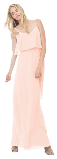 """Joanna August Pale Pink- Paradise City """"dani"""" Long; Ceremony Collection Dress - 55% Off Retail 60%OFF"""