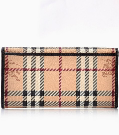 Burberry Burberry Haymarket Colours Penrose Continental Wallet in Black
