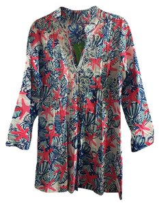 Lilly Pulitzer Beaded Cotton Tunic