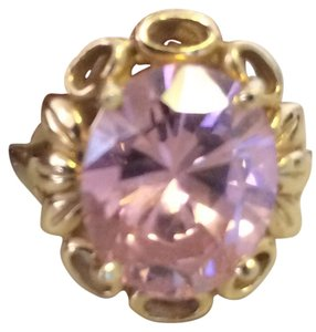 Other Vintage 14K Solid Gold Pink Sapphire Ring