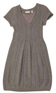 Anthropologie short dress Grey on Tradesy