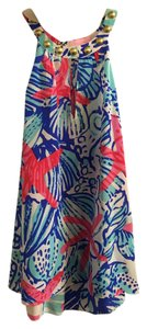 Lilly Pulitzer Top Pink Blue White