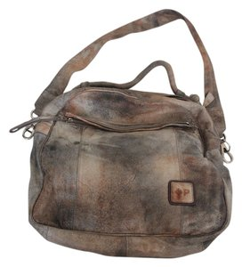 Patricia Italian Leather Large Handbag Tote in Multi-color