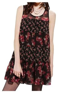 Kimchi Blue short dress Dark Floral Floral Baby Doll Urban Outfitters on Tradesy