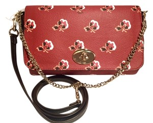 Coach Rose Water-resistant Clutch Limited Edition Cross Body Bag