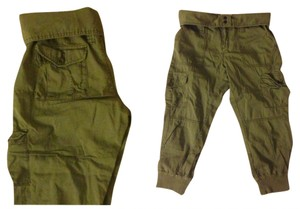 Denim & Supply Capris Army Green