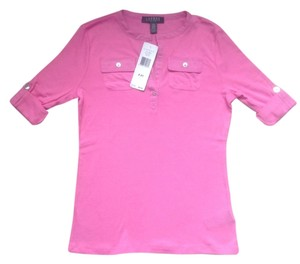 Ralph Lauren Spring Summer Top Pink