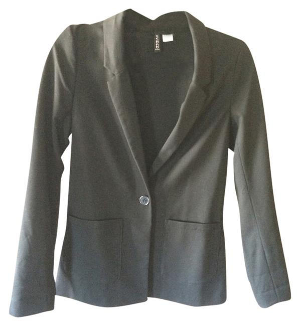 Preload https://item1.tradesy.com/images/divided-by-h-and-m-black-stretchy-comfortable-blazer-size-2-xs-1345335-0-0.jpg?width=400&height=650
