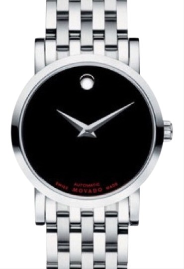 Preload https://img-static.tradesy.com/item/13453528/movado-stainless-steelblack-dial-red-label-swiss-watch-0-8-540-540.jpg