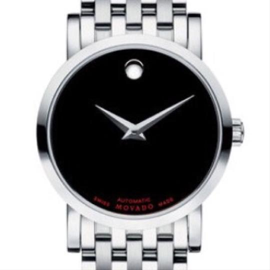 Movado Automatic Red Label Swiss Watch Image 1