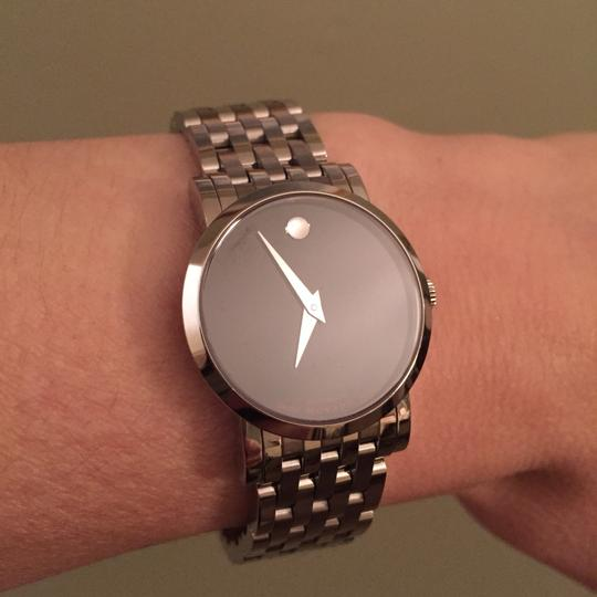 Movado Automatic Red Label Swiss Watch Image 2