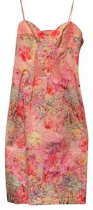 David Meister Lace Night Out Party Floral Jacquard Dress