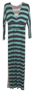 Teal And Navy Maxi Dress by Lilly Pulitzer