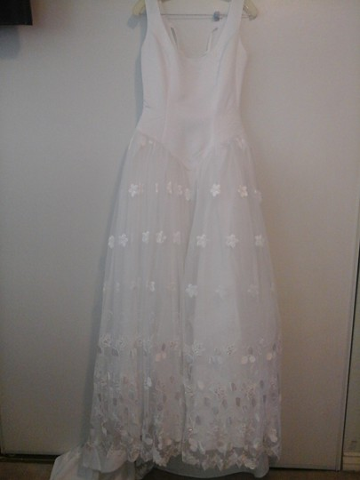 Sweetheart Clothing White Wedding Dress Size 10 (M)