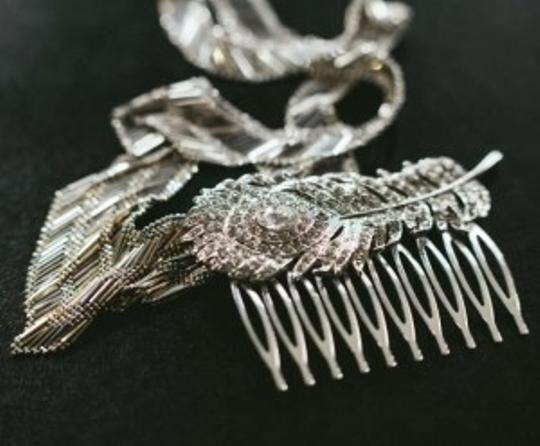 Preload https://item5.tradesy.com/images/silver-vintage-peacock-comb-hair-accessory-134539-0-0.jpg?width=440&height=440