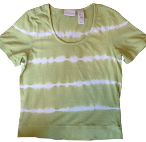 Liz Claiborne T Shirt lime green
