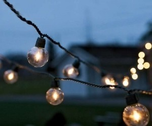 Clear Globe Lights (In&outdoor) - 200 Ft/200 Lights Ceremony Decoration