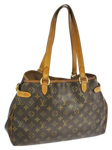 Louis Vuitton Monogram Leathter Chic Llv Lv Shoulder Bag